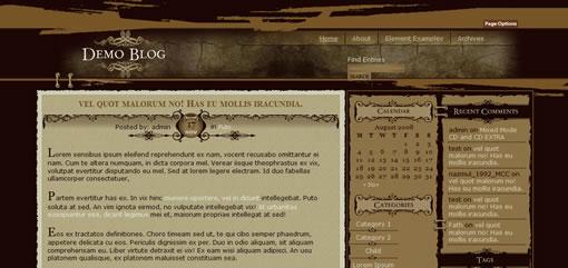 Duffy WordPress Theme