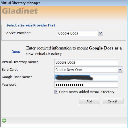 Gladinet Standalone Application