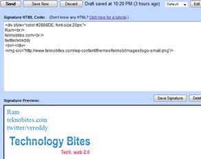 Gmail Multiple Signatures Firefox Addon