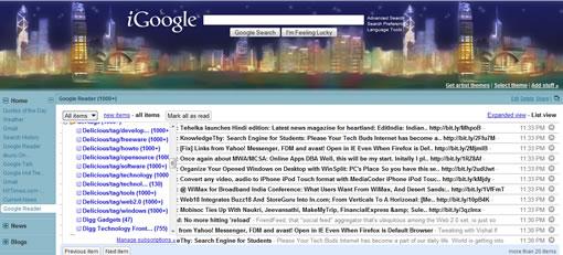 iGoogle Updates