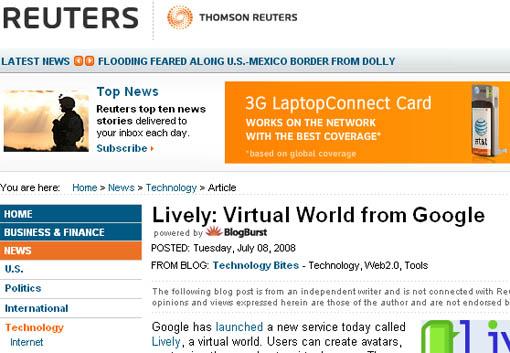 Reuters Blog Posts
