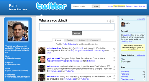 Twitter Extended Profiles