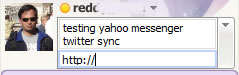 Twitter Sync Plugin for Yahoo Messenger