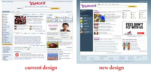 Yahoo Redesign