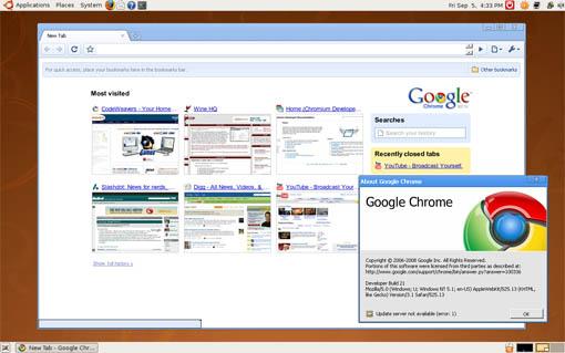 Chromium for Linux