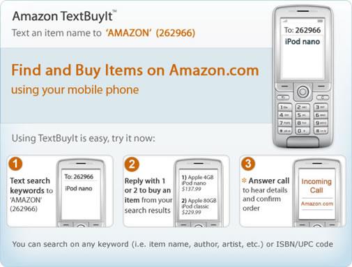 Amazon textBuyIt