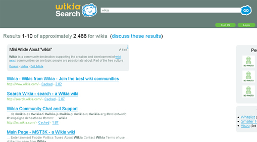 wikia search