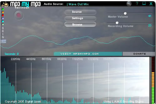 Record any sound as mp3