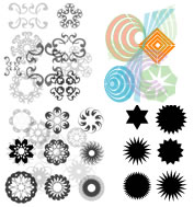 vector shapes for photoshop