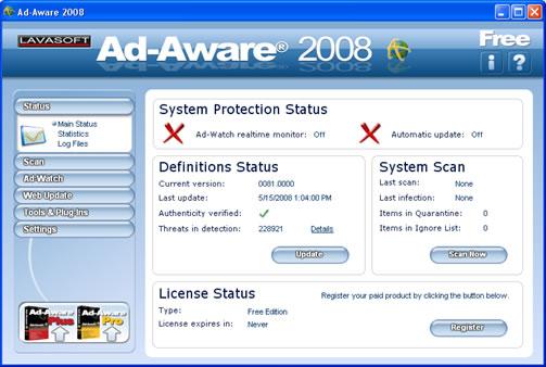 Ad Aware 2008