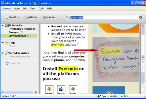 evernote windows app
