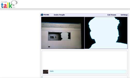 gtalk video conference