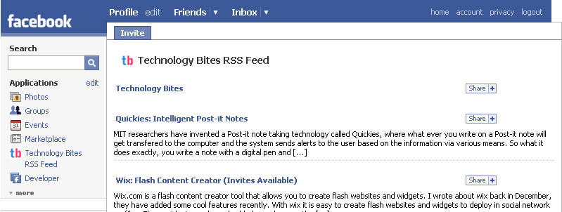 how to read first post of a facebook page