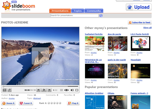 share powerpoint presentations online with slideboom technology bites