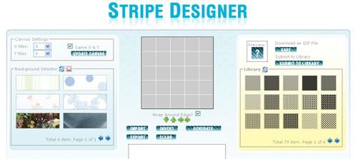 stripe designer