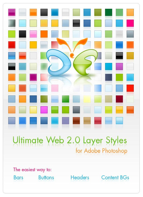 Ultimate Web20 Photoshop Layers