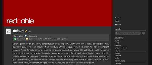 redoable wordpress theme