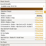 Play and Download MP3 music with Songbeat