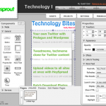 Sprout: Online Flash Widget Maker
