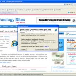First Look at Internet Explorer 8 Beta 1