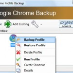 Create, Restore and Backup Your Google Chrome Profiles
