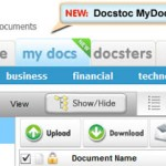 Sync Your Documents online with docstoc