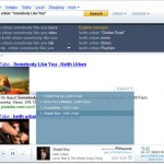 Listen to Music in Yahoo Search Results