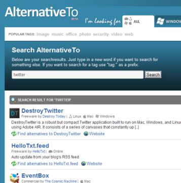 alternativeto