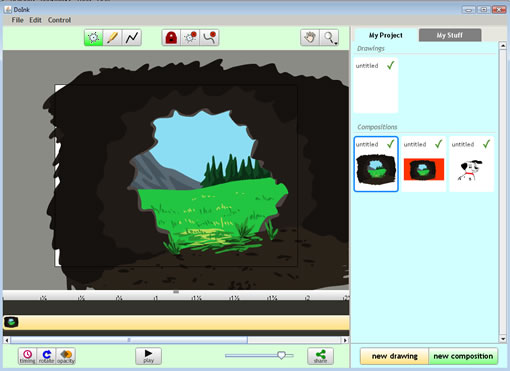 Create animations in your browser with DoInk