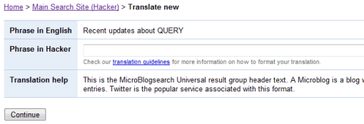google-microblogsearch