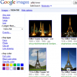 Search Options for Google Images