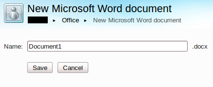 New Mircosoft Word Document