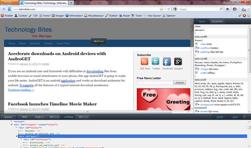 Firefox 10 released with developer tools and full-screen API