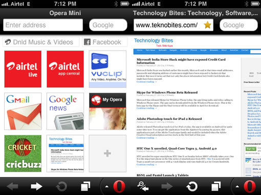 Opera Mobile 12 and Opera Mini Next released today