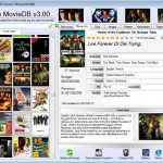 Free MovieDB: Free Movie Database Software