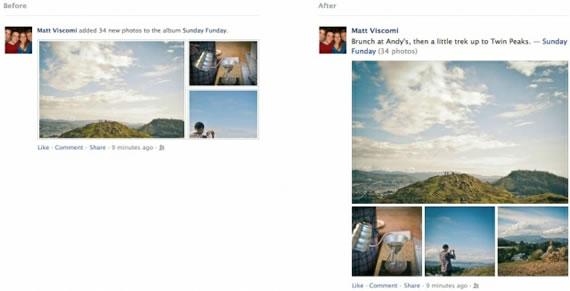 Facebook Photos Feed Redesign