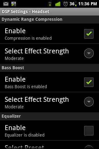 DSP Manager: The Best Equalizer app for Android • Technology