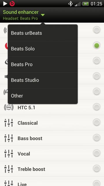MusicBox for the HTC One X (Beats, SRS and Other Audio
