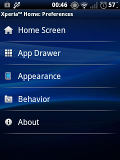 Xperia S Launcher on Android 2 3+ (With Widgets/ Wallpapers