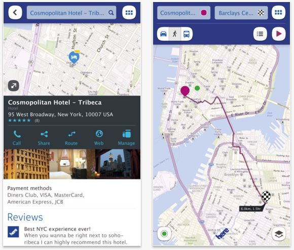 Nokia HERE Maps out now for iPhone, iPad and iPod Touch