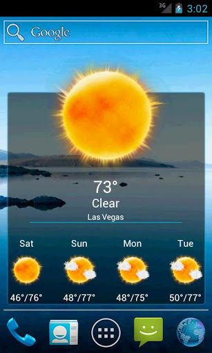 WeatherLove - A New Weather Widget and App for Android