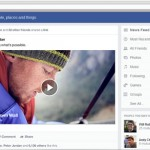 Facebook redesigns news feed, larger images, feed choices