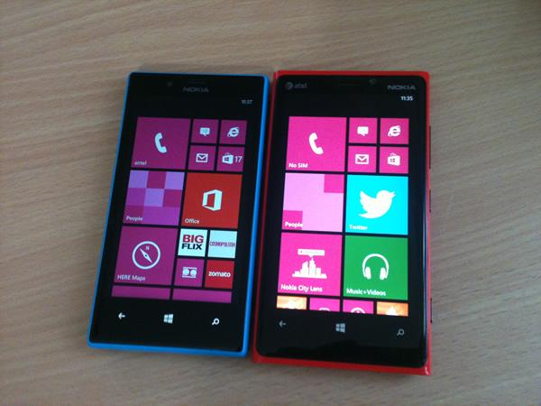Lumia 720 and Lumia 920