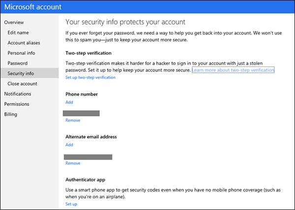 Microsoft-two-step-verification