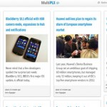 Multiplx Google Reader Alternative