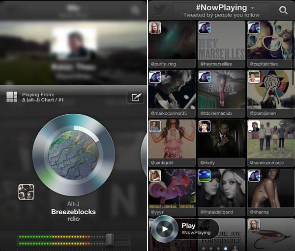 Twitter-Music-App