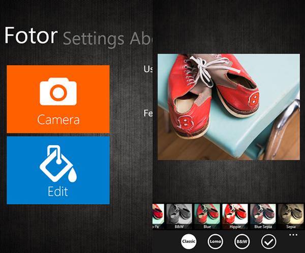 Windows Phone 8 Application
