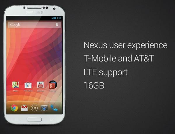 Galaxy S4 Nexus Device