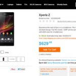 Unlocked Xperia Z Available in US for $629.99, Xperia ZL Gets Price Cut