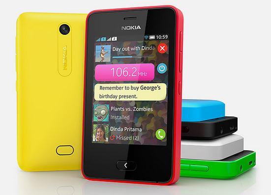 Nokia Asha 501 Colors